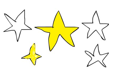 How To Draw A Gold Star - Oliver Age 24