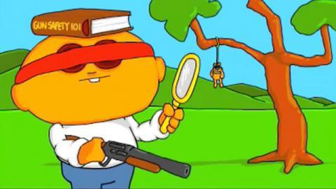 Joe Momma - 10 Pump Gun - Joe Cartoon
